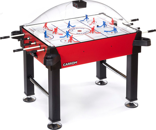 Carrom Stick Hockey Table with Legs - Signature Red