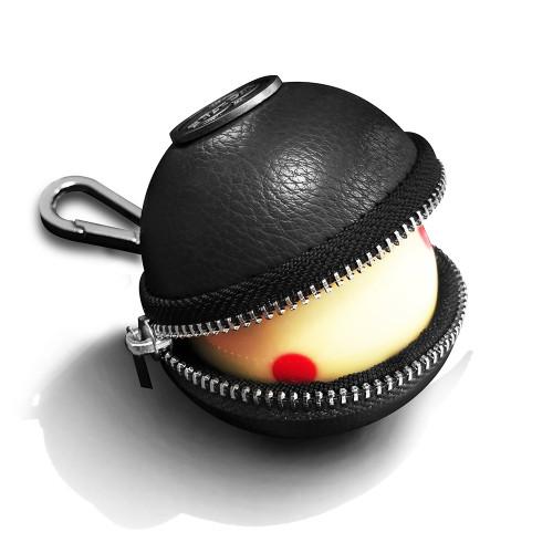 Ballsak Cue Ball Case Pro Series Black and Silver