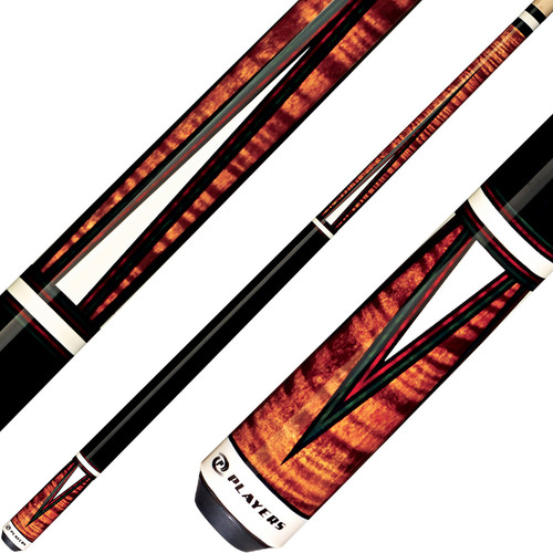 Players Cue Antique Brown Maple