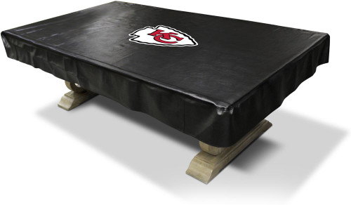 Kansas City Chiefs Pool Table Cover