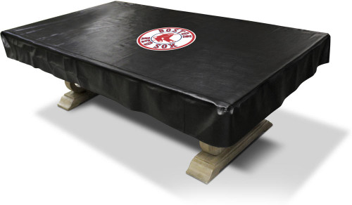 Boston Red Sox Pool Table Cover