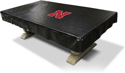University of Nebraska Pool Table Cover