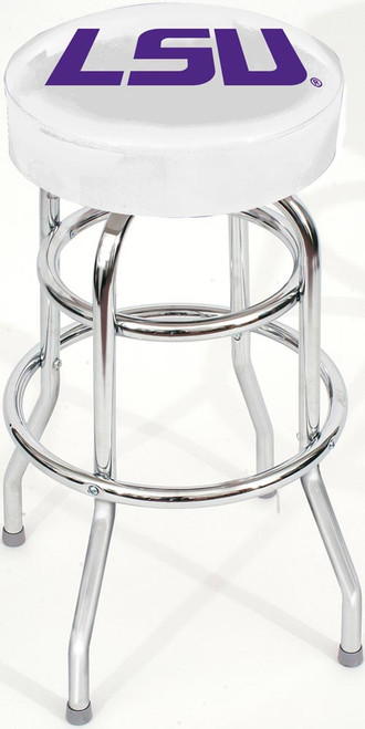 LSU Chrome Bar Stool