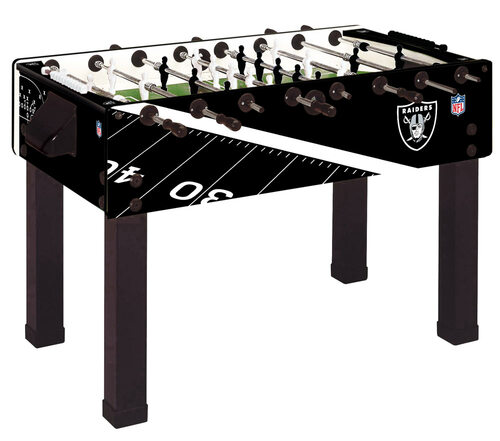 Garlando Foosball Table Oakland Raiders