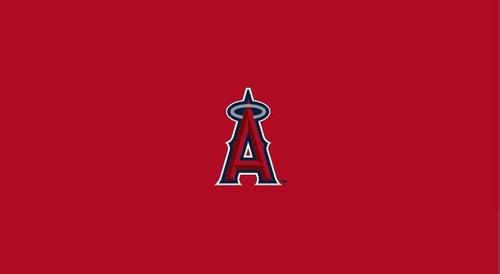 Los Angeles Angels Pool Table Felt