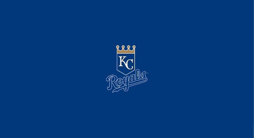 Kansas City Royals Pool Table Felt