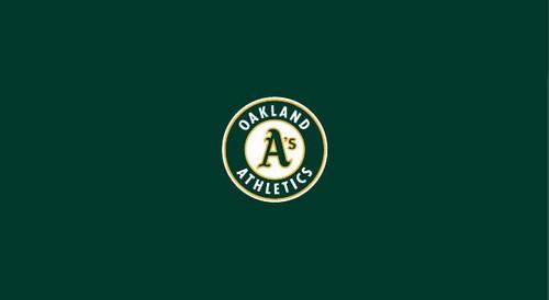 Oakland Athletics Pool Table Felt