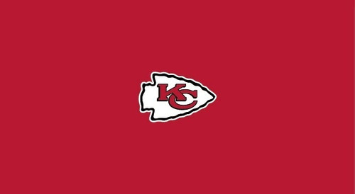 Kansas City Chiefs Pool Table Felt