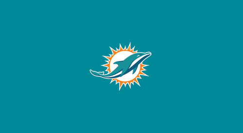 Miami Dolphins Pool Table Felt