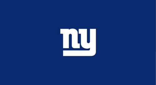 New York Giants Pool Table Felt