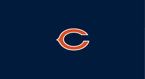 Chicago Bears Pool Table Felt