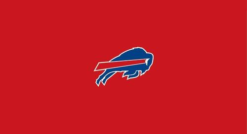 Buffalo Bills Pool Table Felt