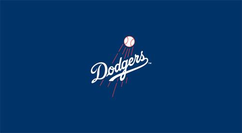 Los Angeles Dodgers Pool Table Felt