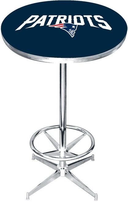 New England Patriots Pub Table