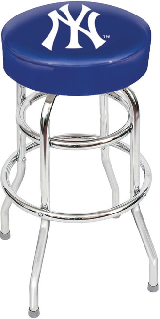 New York Yankees Chrome Bar Stool