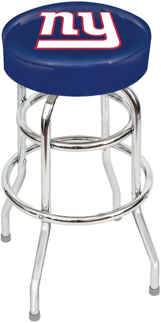 New York Giants Chrome Bar Stool
