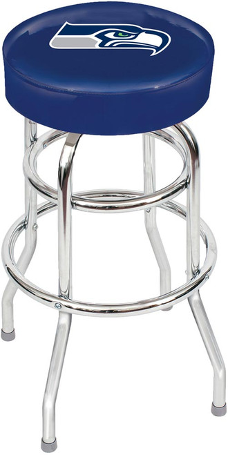 Seattle Seahawks Chrome Bar Stool