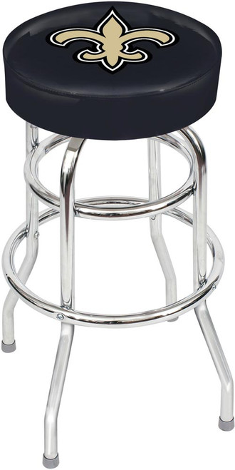 New Orleans Saints Chrome Bar Stool