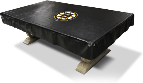 Boston Bruins Pool Table Cover