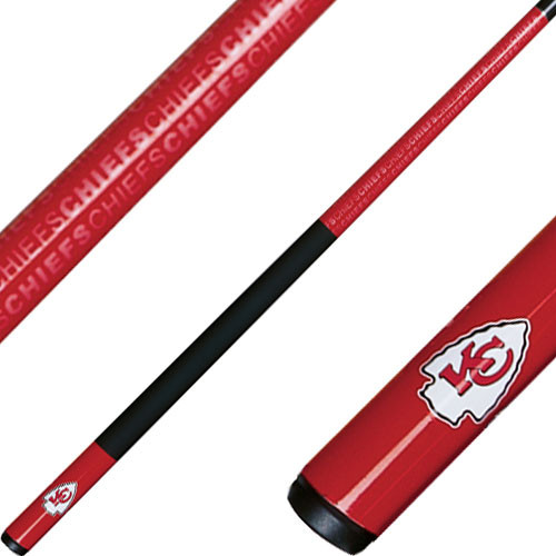 NFL Pool Cues Kansas City Chiefs Cue