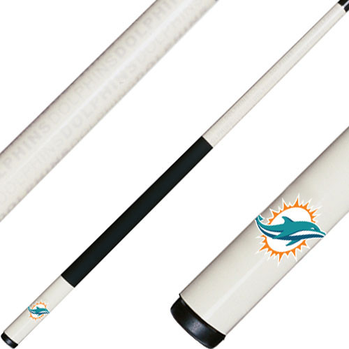 NFL Pool Cues Miami Dolphins Cue