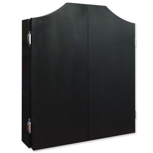 Black Dartboard Cabinet