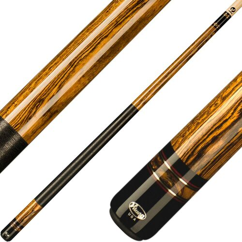 Viking Cues Bocote with Gold Coast Pearl Rings