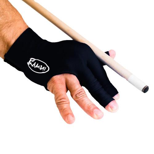 Kamui Billiard Glove - Right Bridge Hand - Black - Medium