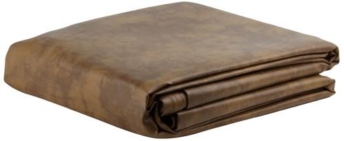 Ozone Saddle Leatherette Pool Table Cover - 8 Foot