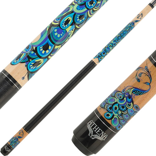 Athena Cues Peacock