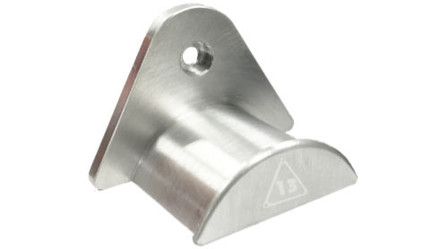 Delta-13 Metal Pool Ball Rack Holder - Silver Grey
