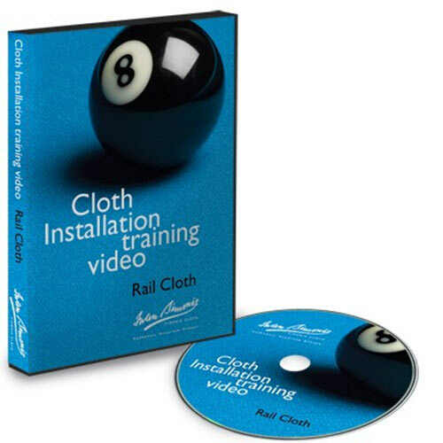Iwan Simonis Cloth Installation Training Video - Rail Cloth