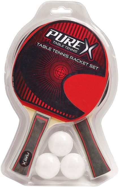Pure X Table Tennis Racket Set