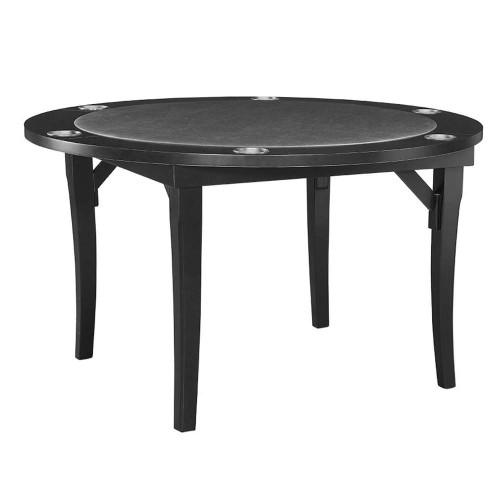 """Ram Gameroom Folding Poker Table  48"""" Black"""