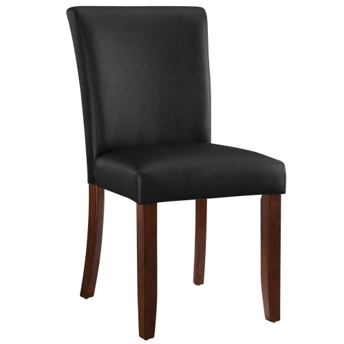 Ram Gameroom Poker Chair Armless Silohuette Cappuccino