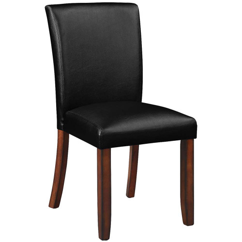 Ram Gameroom Poker Chair Armless Silohuette Chestnut