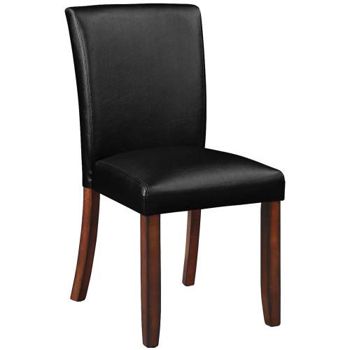Ram Gameroom Poker Chair Armless Silohuette Chestnut