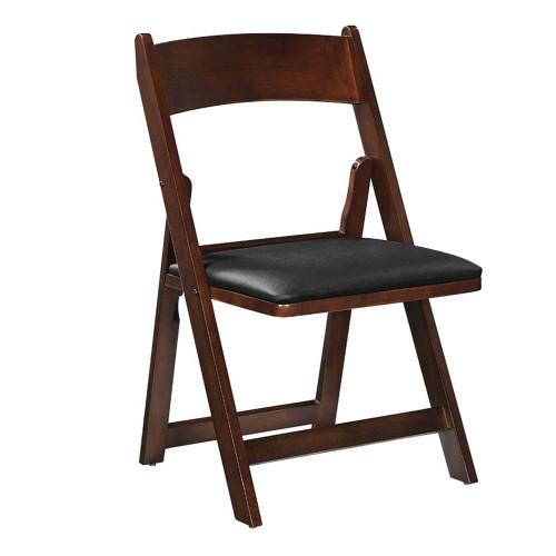 Ram Gameroom Folding Game Chair Cappuccino