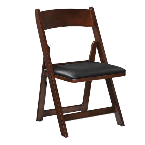 Ram Gameroom Folding Game Chair Cappuccino