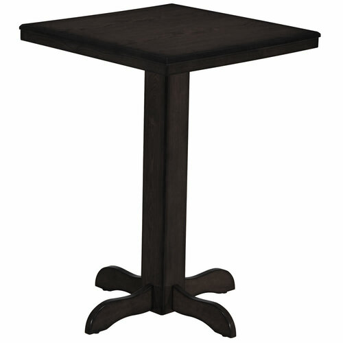 Ram Gameroom Square Pub Table Black