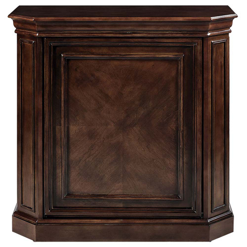 Ram Gameroom Bar Cabinet with Spindle Cappuccino