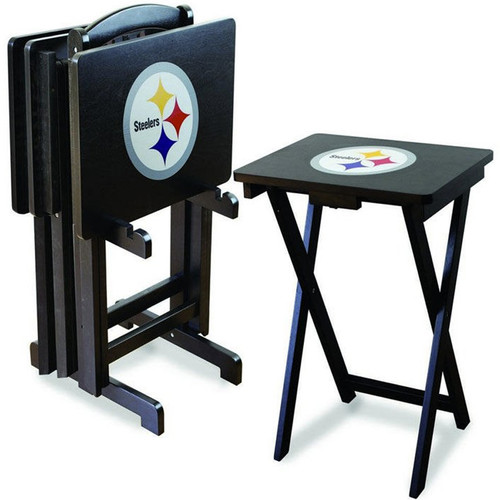 Pittsburgh Steelers TV Tray Set