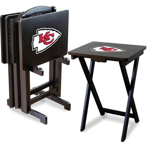 Kansas City Chiefs TV Tray Set