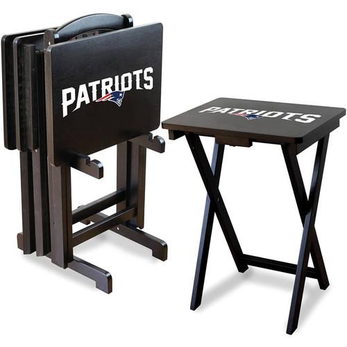 New England Patriots TV Tray Set