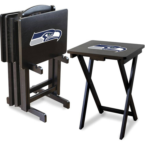Seattle Seahawks TV Tray Set