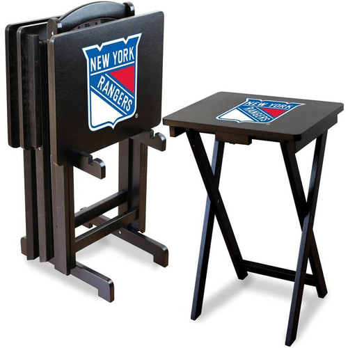 New York Rangers TV Tray Set