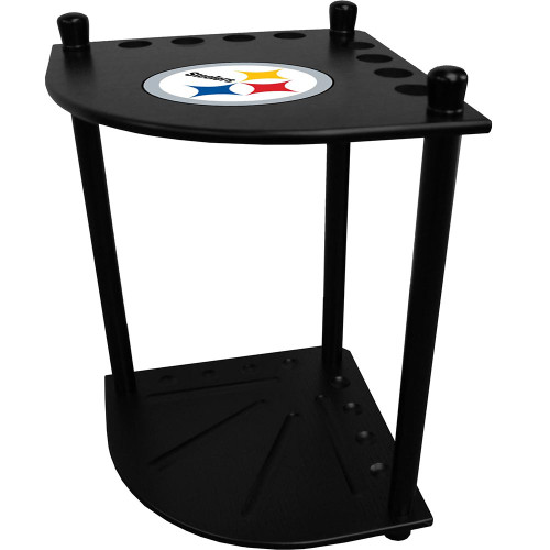 Pittsburgh Steelers Corner Cue Rack
