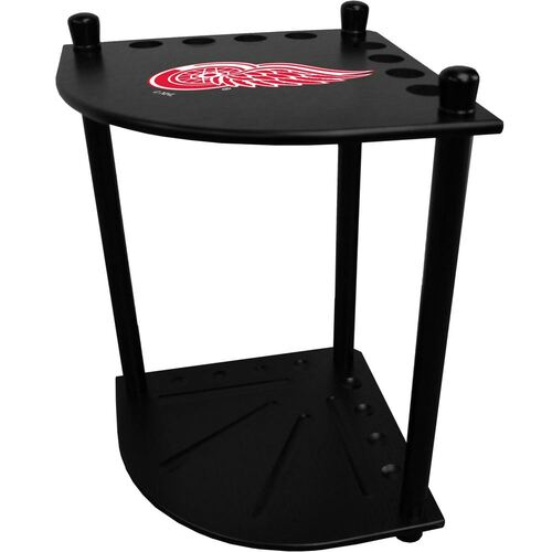 Detroit Red Wings Corner Cue Rack
