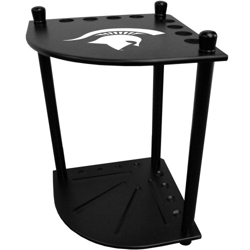 Michigan State Corner Cue Rack