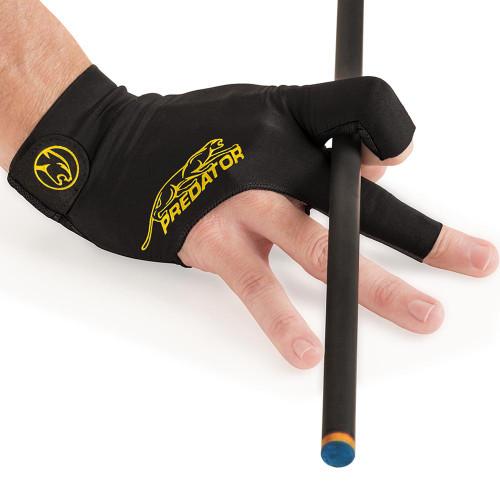 Predator Glove SS Black Yellow Right Bridge Hand S/M